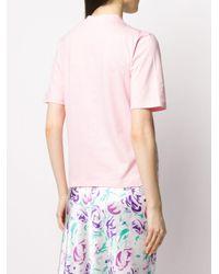 Markus Lupfer Nicola Love Your Smile Tシャツ Pink