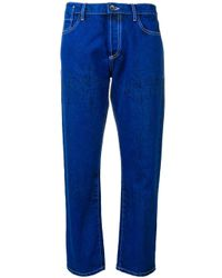 Marni Blue Cropped-Jeans