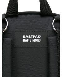 メンズ Raf Simons X Eastpak 'doubl'r White Star' バックパック Black