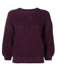 3.1 Phillip Lim Pink Puff Sleeve Sweater
