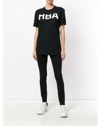 Hood By Air Black Rehab T-shirt for men