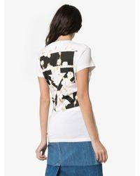 Off-White c/o Virgil Abloh ロゴプリント Tシャツ Multicolor