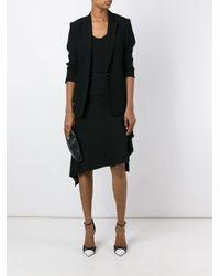 Givenchy - Black Asymmetric Skirt - Lyst