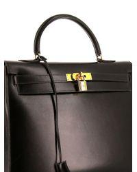 Hermès ケリー 35 ハンドバッグ Black