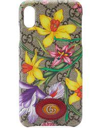 Чехол Для Iphone Xs Max С Принтом Flora Gucci, цвет: Multicolor