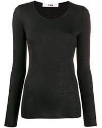 Roberto Collina Tシャツ Black