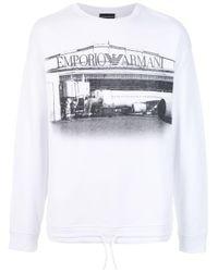 メンズ Emporio Armani 3g1m891jpkz 0100 White