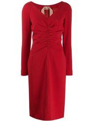 N°21 ギャザードレス Red