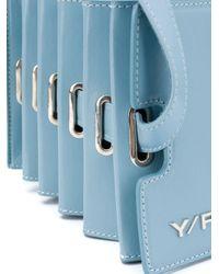 Y. Project アコーディオン ショルダーバッグ Blue