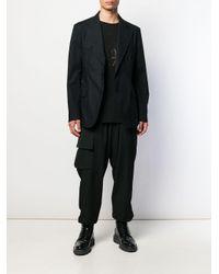 メンズ Yohji Yamamoto スパイダー Tシャツ Black