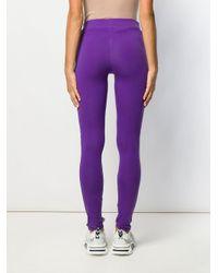Fila ロゴ レギンス Purple
