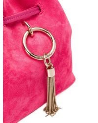 Jimmy Choo Callie バケットバッグ Pink