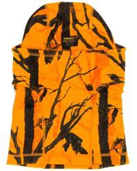 Carhartt WIP Orange Mission Fleece Balaclava