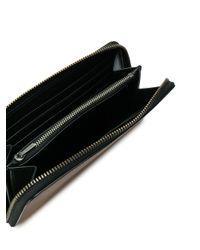 COACH Brown Classic Zip Around Wallet for men