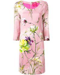 Blumarine フローラル ドレス Pink