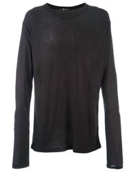 T By Alexander Wang Black Pilling T-shirt for men