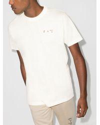 メンズ Off-White c/o Virgil Abloh X Browns 50 Tシャツ White