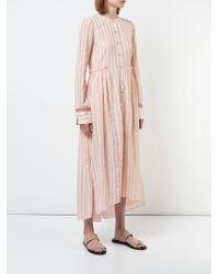 Vestido camisero Nefasi Lemlem de color Pink