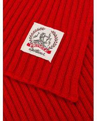 Pringle of Scotland カシミア スカーフ Red