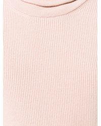 Nanushka Pink Canaan Sweater Dress