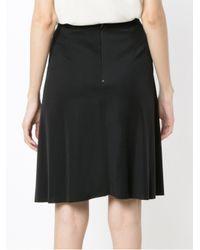 Osklen - Black Flare Skirt - Lyst