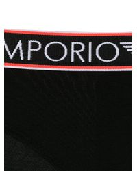 Emporio Armani ロゴ ショーツ Black