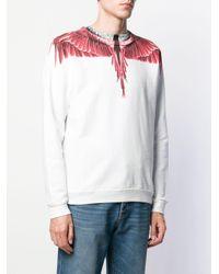 メンズ Marcelo Burlon Wings スウェットシャツ White