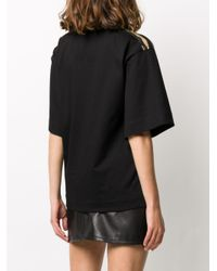 T-shirt con stampa di Moncler in Black