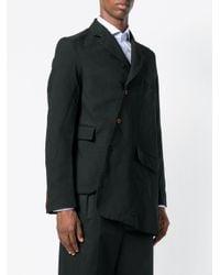 Comme des Garçons - Black Asymmetric Blazer for Men - Lyst