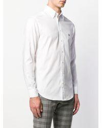 メンズ Etro カジュアル シャツ White