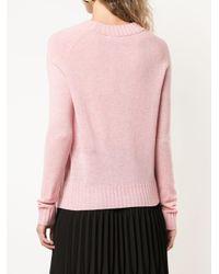 Co. クルーネック セーター Pink