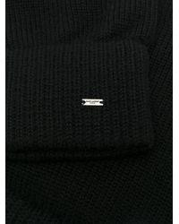 Mitaine en laine Saint Laurent pour homme en coloris Black