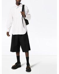 メンズ Yohji Yamamoto ボタン シャツ White