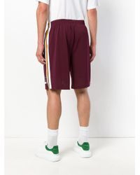 Alexander Wang Purple Basketball Shorts for men