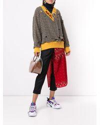 Kolor チェック セーター Multicolor