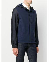 Prada Blue Lightweight Nylon Jacket for men
