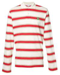 Polo con motivo a strisce di Stella McCartney in Multicolor da Uomo