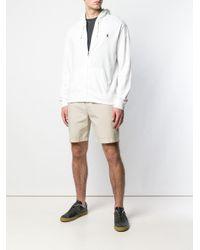 メンズ Polo Ralph Lauren ジップアップ パーカー White