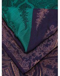 Etro カシミア ペイズリー スカーフ Multicolor