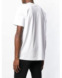 メンズ DIESEL スローガン Tシャツ White
