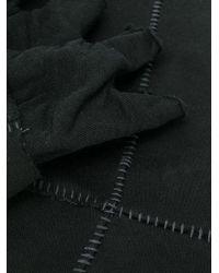 Mitaines à effet usé Thom Krom pour homme en coloris Black