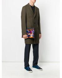 Lanvin Multicolor Flying Lobster Clutch Bag for men