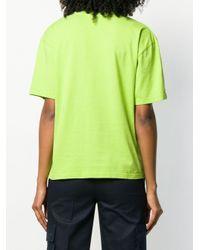 Acne ボックスシルエット Tシャツ Green