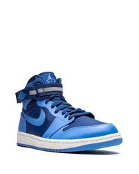 メンズ Nike Air 1 High Strap スニーカー Blue