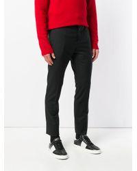 Valentino Black Tailored Chinos for men