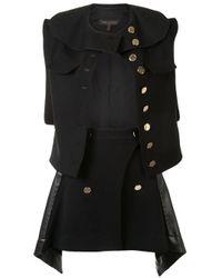 Костюм Из Жилета И Юбки Louis Vuitton, цвет: Black