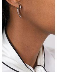 Shaun Leane - Metallic 'signature Tusk' Diamond Earrings - Lyst