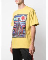 メンズ Supreme Reaper プリント Tシャツ Yellow