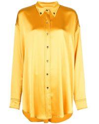 Sies Marjan Kiki オーバーサイズ シャツ Yellow