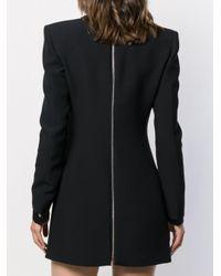 Robe courte à col v plongeant Philosophy Di Lorenzo Serafini en coloris Black